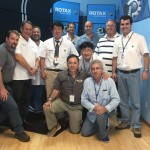 (Left to right) Uwe Nickelsen (Argentina), Eric Tucker (Instructor), William Burgher (Administration), Jae Pil Kim (Korea), Jorge Tavio (USA), Luis Gallo (Colombia), Woo Jin Kim (Korea), Kevin Kane (USA), Mario D'Amico (Argentina), Roger Lee (USA), Marcelo Verinaud (Brazil)