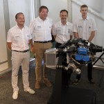 Rotax staff introduce us to the new 915 iS engine.